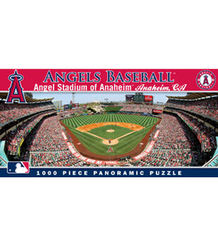 Los Angeles Angels MLB Master Pieces Panoramic Puzzle