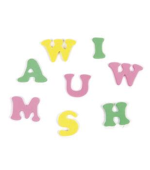 Bucket of Foam Alphabet Letter Stickers