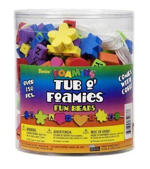 Darice® Foamies Tub O' Foamies-Fun Bead