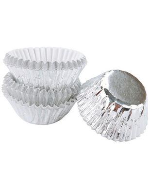 Wilton® Bon Bon Baking Cups-Silver Foil