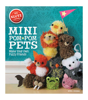 Klutz Mini Pom Pom Pets Book Kit
