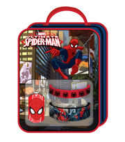 Spiderman Bag with Necklace Rubber Bracelet, , hi-res