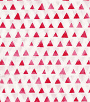 Keepsake Calico™ Cotton Fabric-Red Shaded Triangle, , hi-res
