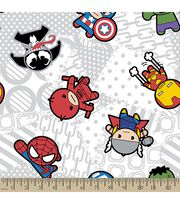 Marvel's The Avengers Print Fabric-Kawaii Characters, , hi-res
