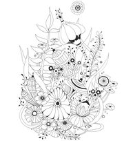 Botanical Wonderland Coloring Book