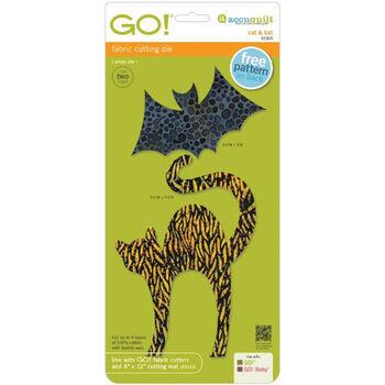Cat & Bat -go! Fabric Die