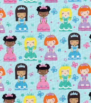 Novelty Cotton Fabric- Princesses