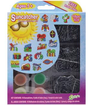 Kelly's Suncatcher Group Activity Kit-Religious