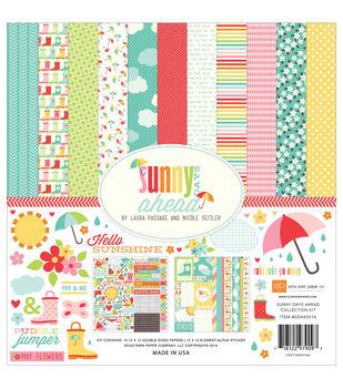 Echo Park Paper Company Sunny Days Ahead Scrapbooking Kit