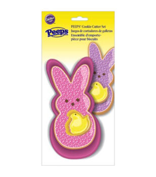 Wilton® Cookie Cutter Set 2pc-Peeps