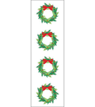Mrs. Grossman's Stickers-Bright Wreath