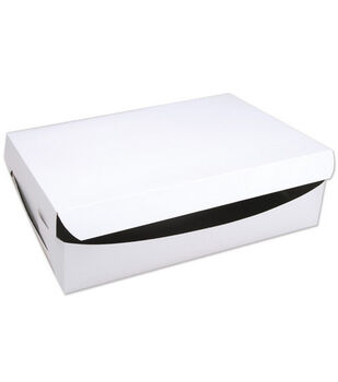 """Cake Box For Cakes Or 24 Cupcakes-14""""X19""""X4"""""""