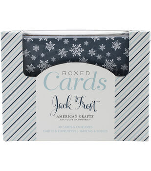 American Crafts™ A2 Cards & Envelopes-Jack Frost