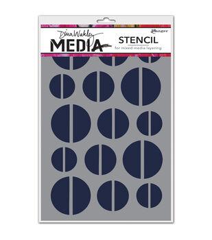 Ranger Dina Wakley Halves Media Stencils