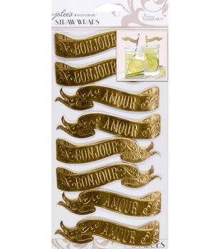 Jolee's Boutique Parisian Straw Wraps