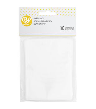 Wilton® 100 ct. Treat Bags-Clear