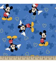 Disney® Mickey Mouse Print Fabric, , hi-res