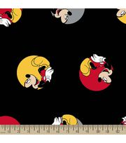 Disney® Mickey Mouse Print Fabric-Mickey in Dots, , hi-res