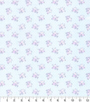 Made in America Cotton Fabric-Shabby Chic Floral Dot, , hi-res
