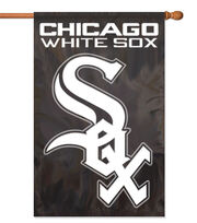 Chicago White Sox MLB Applique Banner Flag, , hi-res
