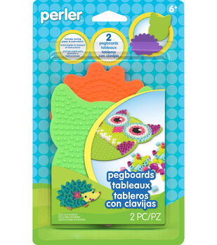 Owl and Hedgehog Pegboard Pack