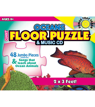 Busy Kids Learning Giant Floor Puzzle