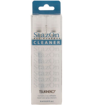 Tsukineko .25 oz. StazOn All-Purpose Cleaner Spritzers-2PK