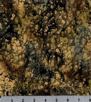 Keepsake Calico™ Cotton Fabric-Black/Tan Texture, , hi-res
