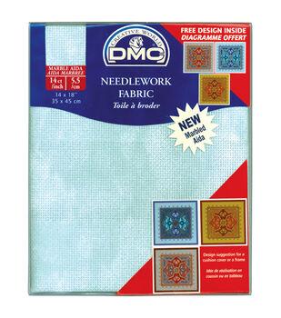 DMC Marbled Aida Needlework Fabric 14 Count 14''x18''