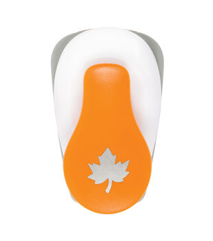Fiskars Small Lever Punch-Maple Leaf
