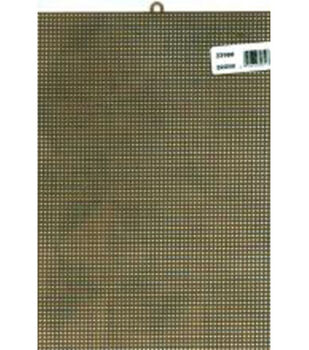 "Plastic Canvas 7 Count 10""X13""-Brown"