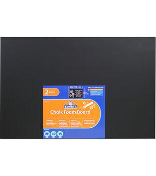 """Elmer's® 20"""" x 30"""" Chalk Foam Boards-Black"""