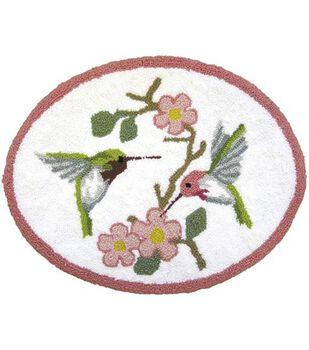 M C G Textiles Rug Punch Needle Kit Hummingbird