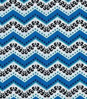 Keepsake Calico™  Cotton Fabric-Chevron Blue, , hi-res