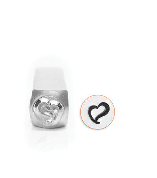ImpressArt's Swirly Heart, 6mm