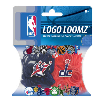 Forever Collectibles Logo Loomz Filler Pack Washington Wizards