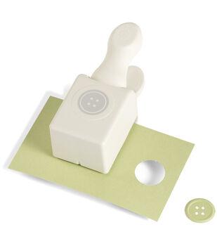 """Martha Stewart Medium Double Punch-Embossed Button .9375"""""""