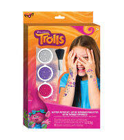 Dreamworks Trolls Glitter Tattoo Kit, , hi-res