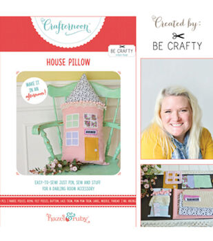 Hazel & Ruby Crafternoon House Pillow