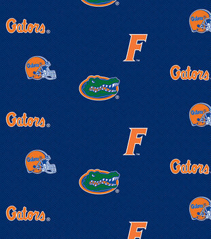 Florida Herringbone-NCAA Cotton Print