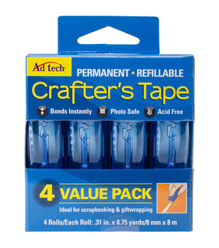 Ad-Tech Permanent Glue Runner 4/Pk