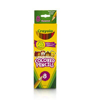 Crayola 8 ct. Multicultural Colored Pencils, , hi-res