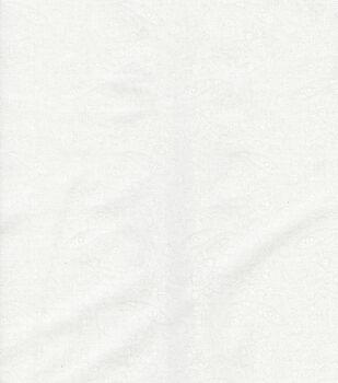 Keepsake Calico™ Cotton Fabric-White Paisley