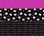 Sanrio Skirt Hello Kitty Neon Mock Smock, , hi-res