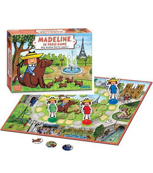 Madeline In Paris Board Game
