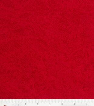 Keepsake Calico™ Cotton Fabric-Brush Stroke Texture Red