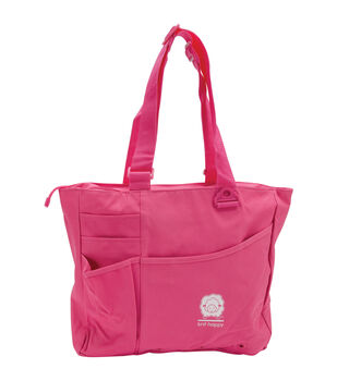 Knit Happy Bright Bags-Pink