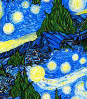 Keepsake Calico™ Cotton Fabric-The Starry Night, , hi-res