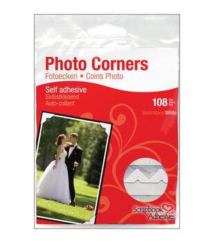 Scrapbook Adhesives 1/2'' Classic Photo Corners-108PK