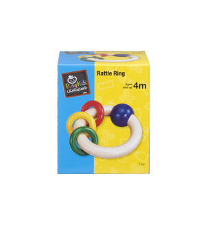 Busy Kids Learning Rattle Ring